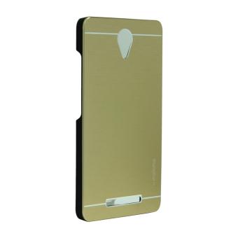 Motomo Aluminum Metal Case for Xiaomi Redmi Note 2 - Gold