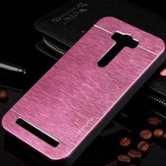 MR Case Oppo Neo 9 A37 Bumper Mirror Sleding Metal Back Case Bumper Cermin - Rose