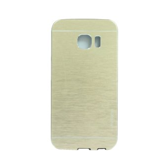 Motomo Metal Case for Samsung Galaxy S6 Edge - Gold