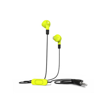Motorola Wired Earbuds With Remote and Mic Jack 3.5mm (1.2m) - Lime
