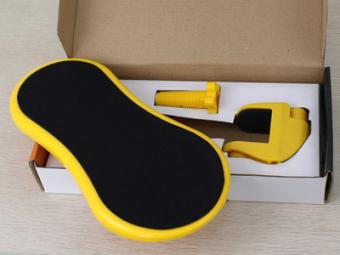 Mouse pad pergelangan siku kursi sandaran tangan rak memuaskan rak