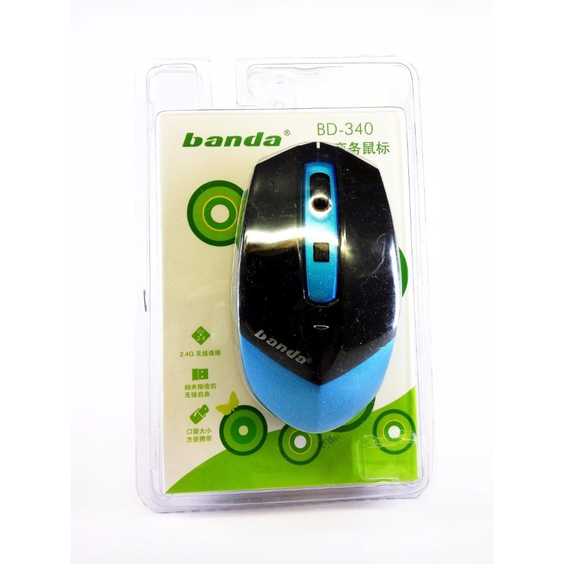 Mouse Wireless Bluetooth Banda 340 Daftar Harga Termurah Terkini Lm Ap01