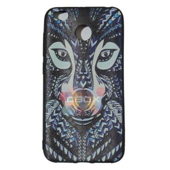 MR Case Etnic Luxo Rimba Wolf For Xiaomi Redmi 4X Soft Back CoverAnimals Wild / Softshell / Case Forest / Casing Xiaomi - SerigalaHutan