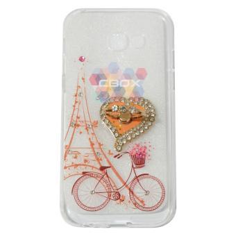 MR Soft Case Girly Motif For Samsung Galaxy A5 2017 A520 Softshell Animasi Bike Flower Basket