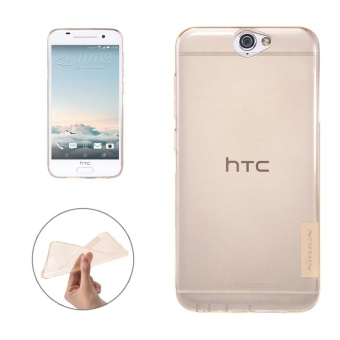 Multi-protective Case For Mobile Phones, NILLKIN Nature TPU CaseFor HTC One A9 Stylish 0.6mm Ultrathin Clear Color Soft ProtectiveCase Back Cover(Brown) - intl