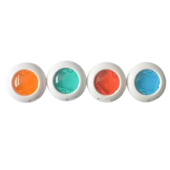 Baru Warna-warni 4 Warnd Filter Lensa Close Up Filter Polaroid Mini 8/7