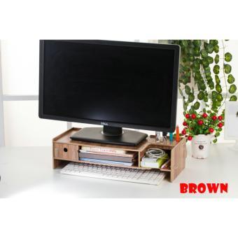 New Desktop Storage 5088C Meja Laptop Ada Lacinya