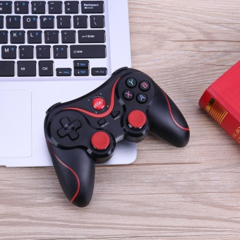NEW T3 smart Wireless Bluetooth Gamepad Gaming Controller for Android mobile (Black) - intl - 2