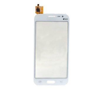 Baru Layar Sentuh Digitizer Penggantian Kaca untuk Samsung GALAXY J2 (Putih )--Intl
