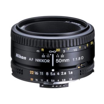 Nikon AF 50mm f/1.8D Nikkor Lens