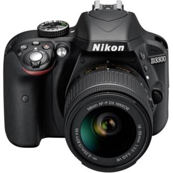 Nikon D3300 DSLR Camera with AF-P 18-55mm VR Lens - intl