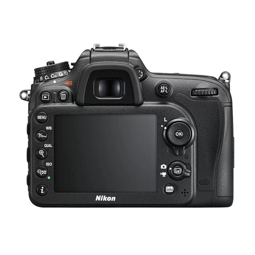 Nikon D7200 Kit 18-140mm VR Lens - 24.2 MP - 5.8x Optical Zoom - Hitam + Gratis SHDC 8 GB ultra+ Tas+ Filter+ Anti Gores