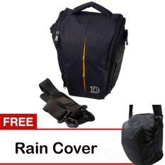 Nikon Tas Kamera - Hitam 1 Lensa Gratis Raincover
