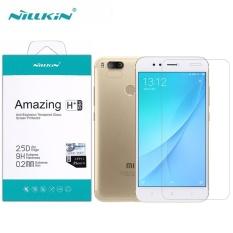 Nillkin Amazing H+ Pro 0.2mm Anti-Explosion Tempered Glass Screen Protector For Xiaomi MiA1 Mi A1 5X (Clear) - intl