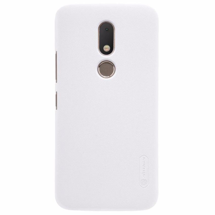 Nillkin Frosted case Motorola Moto M XT1662 Putih free screen protector