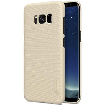 Nillkin Frosted Hard Case Casing Cover for Samsung Galaxy S8 Plus - Emas