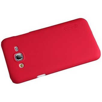 Nillkin Frosted Hard Case for Samsung Galaxy J7 J700 2015 Casing Cover - Merah