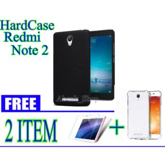 Nillkin Frosted Shield Hardcase for Xiaomi Redmi Note 2 || Free Tempered Glass Note 2