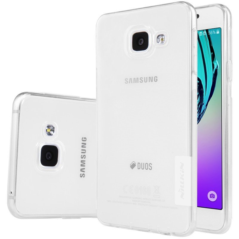 ... Nillkin Samsung Galaxy A3 2016 A310 Nature TPU Jelly Soft Case - Original - Putih ...