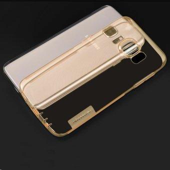 Nillkin untuk Samsung Galaxy S7 Flat Nature TPU Jelly Soft Case -Coklat - 2