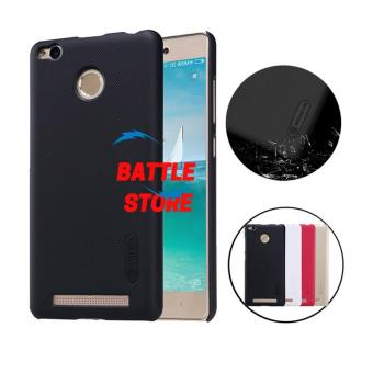 Nillkin Xiaomi Redmi 3s Pro Case Frosted Shield Hard Back Cover for Xiaomi Redmi 3s Pro - Hitam