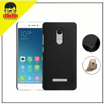 Nillkin Xiaomi Redmi Note 3 / Redmi Note 3 Pro Case Frosted Shield Hard Back Cover for Xiaomi Redmi Note 3 / Redmi Note 3 Pro - Hitam