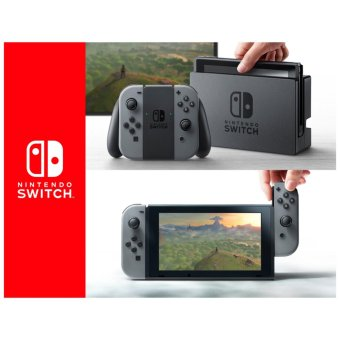 Nintendo Switch Console Gray ( No Bundle Game)