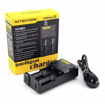Nitecore Intelli i2 Charger Universal Battery Charger 2 Slot for Li-ion and NiMH - Hitam
