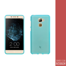 Rp 75.000. NOZIROH LEECO LE PRO 3 PRO3 Silicon Cover 360° Flexible Frosted Phone Case With Anti Scratch Shock Proof Function Blue ColorIDR75000