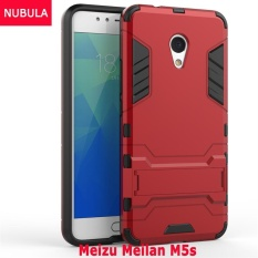 NUBULA 360 degrees Ultra-thin Hard Back Cover For Meizu Meilan M5s Detachable 2 in 1 Hybrid Armor Shell Case Dual-Layer Full Protective Shockproof Case ...