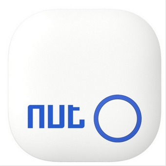 Nut 2 Tag Bluetooth Tracker GPS Locator Alarm (White)