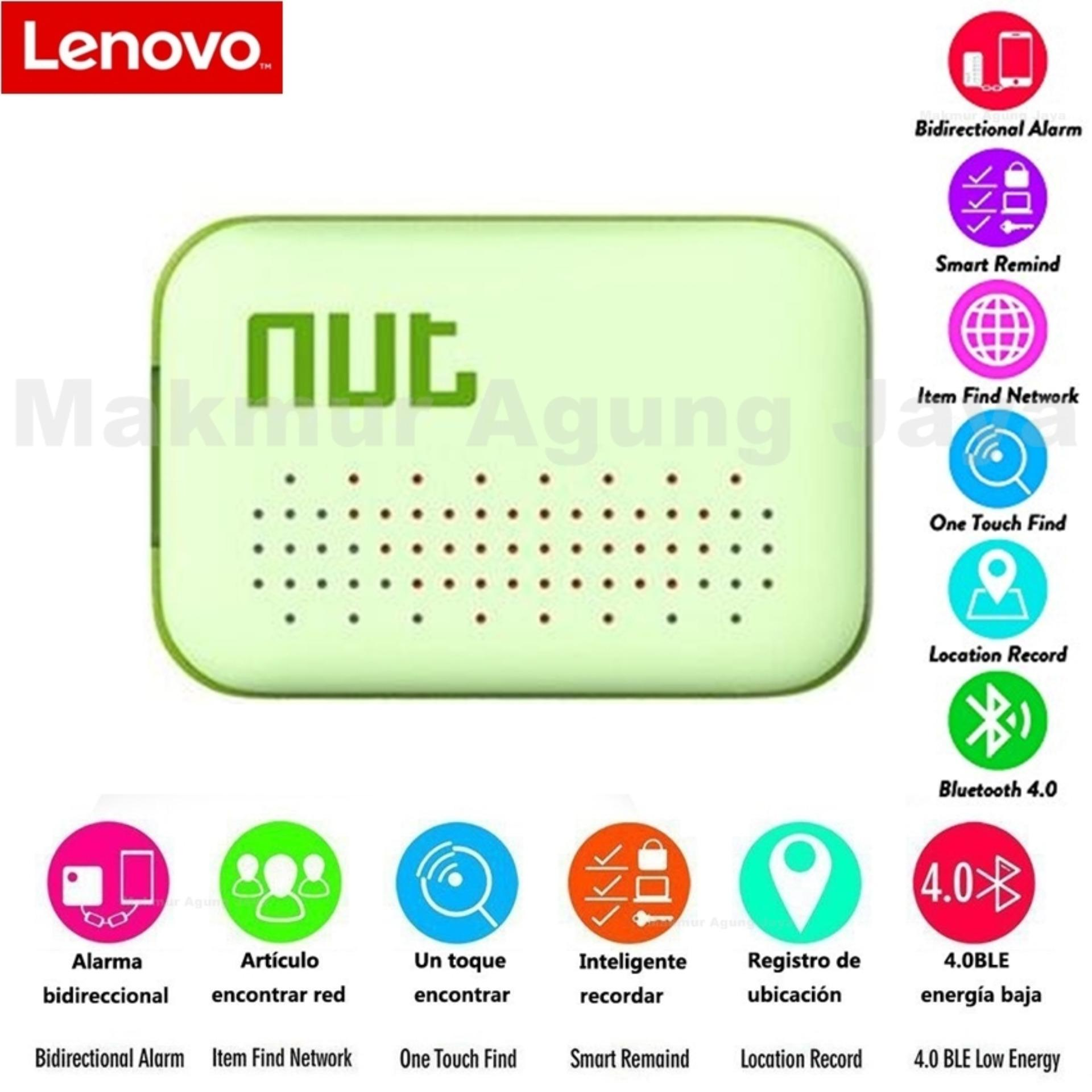 Nut Mini Smart Tracker Bluetooth - GPS By Lenovo - For iOS iPod iPad Android -