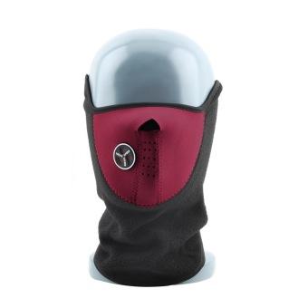 OH Neoprene Leher Hangat Musim Dingin Masker Kerudung Olahraga Ski Sepeda Motor Pengendara Sepeda Motor Merah