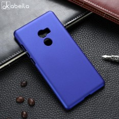 Oil-coated Rubber Matte Phone Cases For Xiaomi Mi Mix 2 Xiaomi Mi Mix Evo 5.99 inch Covers Phone Back Plastic Phone Case Bag Housing Protector Shell Hood - intl