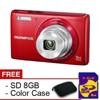 Olympus VG180 - 16MP - 5x Optical Zoom - Gratis SDHC 8Gb + Case