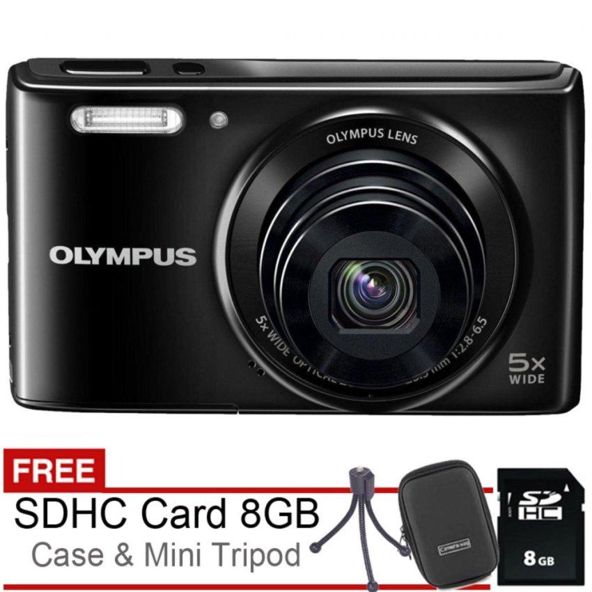 Olympus VG180 - 16MP - 5x Optical Zoom - Gratis SDHC 8Gb + Case + Tripod