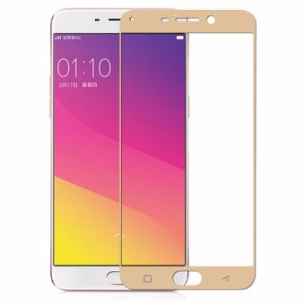 ONE-X Full Cover Tempered Glass for OPPO F1 Plus 5.5 inch - Gold