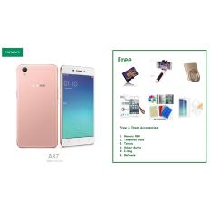 OPPO A37 [2/16GB] + Free 6 Item Accessories