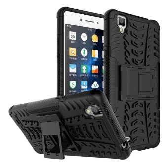 OPPO F1 Back Case Armor Hybrid Rugged Heavy Duty Hard Case Cover for OPPO F1 Global / OPPO A35 Stand Case with Kickstand - intl, 87.000, Update. For OPPO F1 ...
