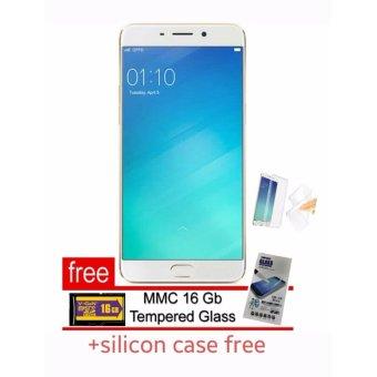 OPPO F1s Selfie Expert 4G - 32GB - Gold - Free 3 Paket Aksesoris ...