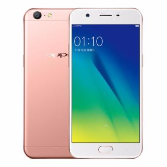 Oppo F3 Smartphone - Rose Gold [64GB4GB] Free Tongsis Cable