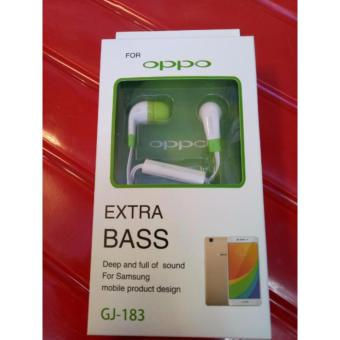 OPPO GJ-183 In ear earphone colorful exstra bass portable headset - int