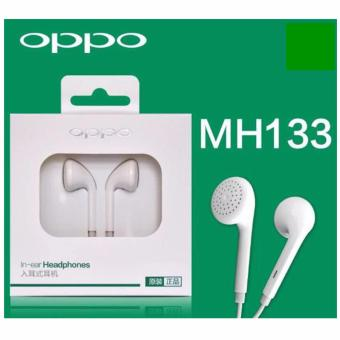 OPPO Handsfree/Headset/Headphone in Ear OPPO MH133 Original - Putih