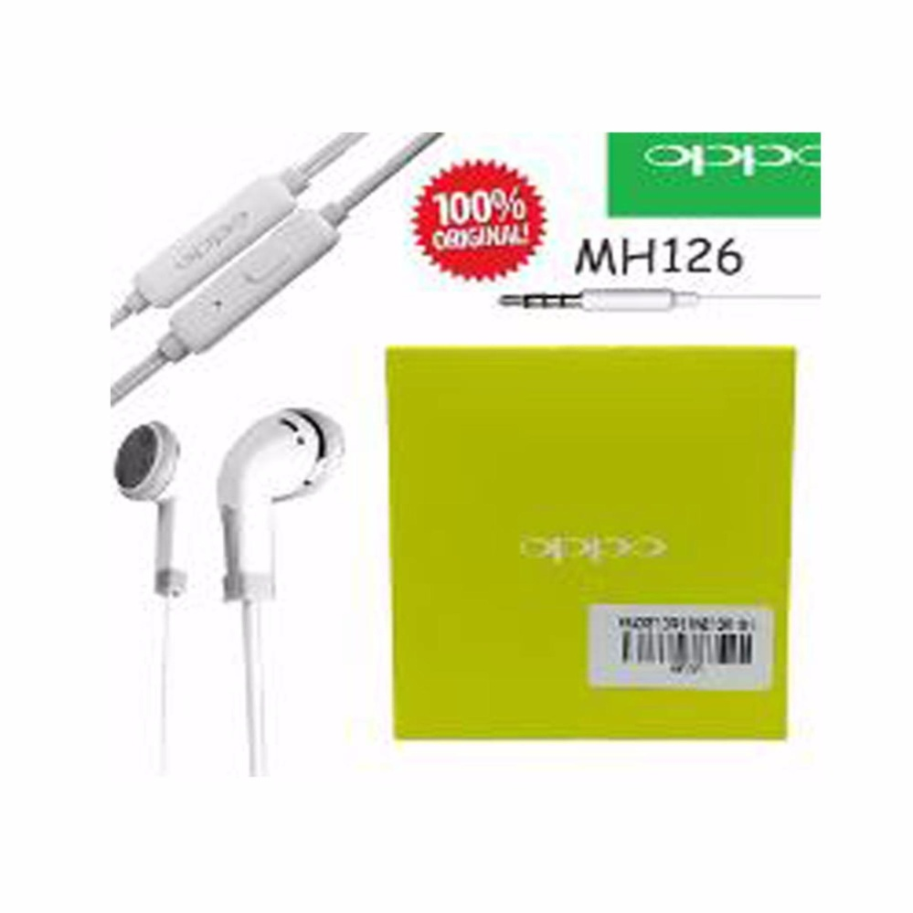 Samsung Handsfree S6310 5360 Untuk Galaxy Young New 4gb Putih Oppo Headset Mh126 Fnd 7high Quality Original