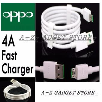 OPPO Original Kabel Data VOOC Fast Charging-Putih 4A
