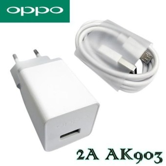OPPO Power Adapter Charger 2A Fast Charging AK903 10W - Original