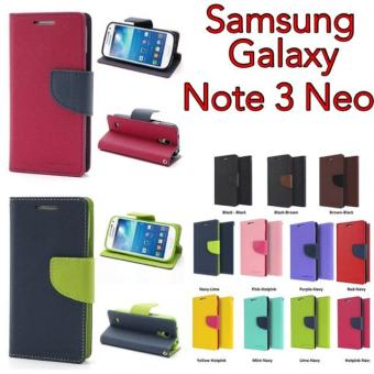 Original Mercury Goospery Fancy Diary Case Samsung Galaxy Note 3 Neo