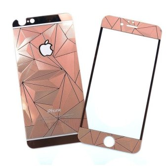 Original Tempered Glass Protector 3D Diamond Colour for Iphone 6,6s- Rose Gold