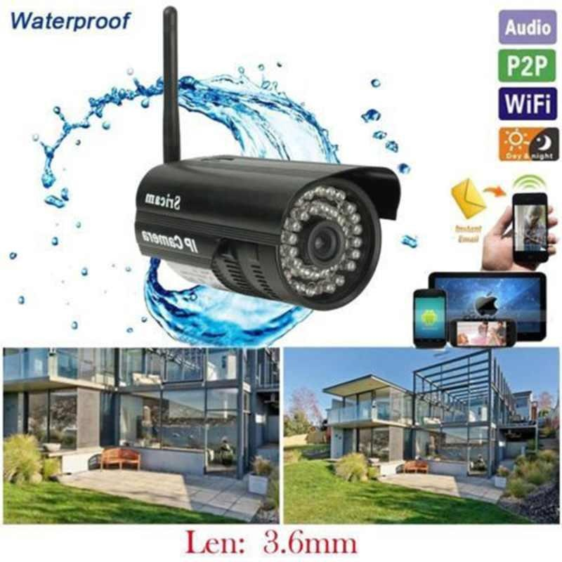 ... Outdoor Wireless Wifi Security Webcam IR IP P2P Camera Android System 24 LEDS - intl ...