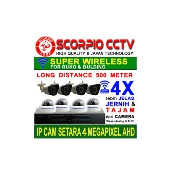 PAKET CCTV UNTUK GEDUNG 8 IP CAM 2 MP TERMURAH